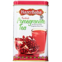 Hazer Baba Turkish Pomegranate Tea 250g TIN - Instant Granulated Apple Flavour Drink
